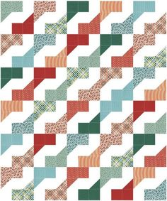 Easy Peasy Faux Zig Zag Quilt Pattern | Craftsy