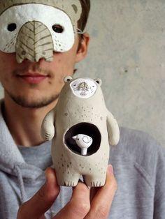 bricolage: Halloween mask inspiration