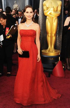 La red carpet del Oscar 2012