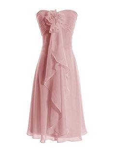 Diyouth Strapless Hand Made Flowers Short Bridesmaid Dress Blush Size 26 Plus Diyouth http://www.amazon.com/dp/B00LQMSIRS/ref=cm_sw_r_pi_dp_RYk0tb1CYDTTQKVJ