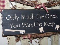 Funny Sign for the bathroom!