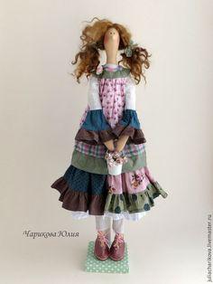 Купить ЗНАТЬ (зеленый) - зеленый, тильда, тильда кукла, бохо, бохо-стиль, ручная работа