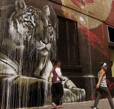 Embedded image permalink. Mural, street art.