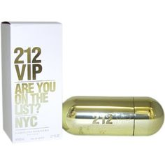 212 VIP By Carolina Herrera Eau De Parfum Spray for Women 270Ounce Body Care  Beauty Care  Bodycare  BeautyCare * Details on this fragrance can be viewed by clicking the VISIT button