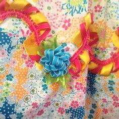 Eden Sundress with Whimsy Stick hem details by Kari Mecca