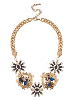 Shop Prima Donna - Cerulean Starlight Collar Necklace Blue