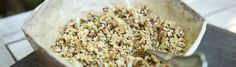 di Stasio - Couscous de chou-fleur Quebec, Vegetable Recipes, Grains, Sandwiches, Gluten, Rice, Eggs, Lunch, Vegetables