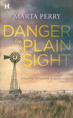 Danger in Plain Sight by Marta Perry-her books are like none I've read--suspenseful, on the edge of your seat danger but always wholesome and Christian.