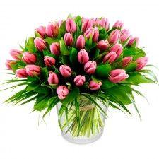 Tulpenboeket Roze