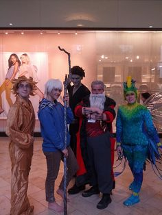 Sandman, Jack Frost, Pitch, North, Tooth Fairy Rise of the Guardians Anime Boston 2013