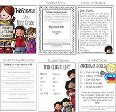 Meet the Teacher Tips - FREE edible packet for back to school night! Best freebie :)