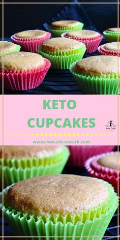 Diet Recipes Easy to bake Keto Cupcakes as a base for all the decoration baking Sugar Free Desserts, Low Carb Desserts, Low Carb Recipes, Snack Recipes, Dessert Recipes, Keto Snacks, Smoothie Recipes, Dinner Recipes, Keto Cupcakes