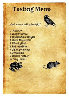 Pinterest Writing a Dinner Menu - - Yahoo Image Search Results