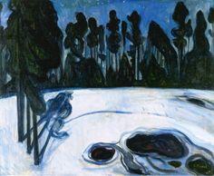 "Edvard Munch ""Starry Night"
