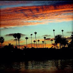 Long Beach, California...nothing like a sunset!!!