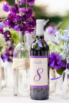 Wine+Bottle+Centerpices+Sweet-pea.jpg (530×795)