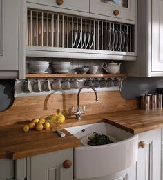 love the wood backsplash, n countertops