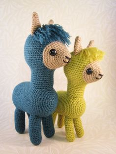 This pattern to make two sizes of adorable alpaca is now available in my Etsy shop: www.etsy.com/uk/listing/199088454/pdf-of-alpaca-family-am...