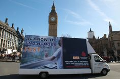 Launch of the End Hunger Fast at Westminster