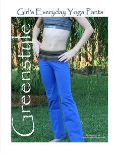 Girl's Everyday Yoga Pants $9