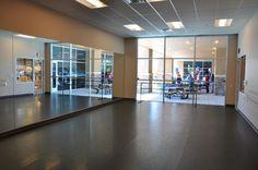 Completed dance studio