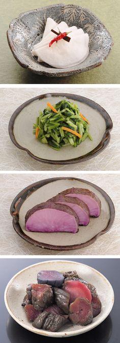 Variety of Japanese Tsukemono, Pickled Vegetables (Kyoto Kawakatsu, Since 1917)