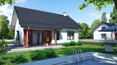 Wizualizacja Mój Dom w Dolinie 2 CE Tiny House, Outdoor Decor, Home Decor, Modern Houses, Arquitetura, Log Homes, Modern Homes, Decoration Home, Room Decor