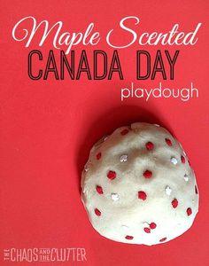 Maple Scented Canada Day Playdough Maple Scented playdough perfect for Canada Day Canada Day Party, Canada Day 150, Canada Trip, Summer Crafts For Toddlers, Toddler Crafts, Preschool Crafts, Summer Activities, Infant Crafts, Preschool Ideas