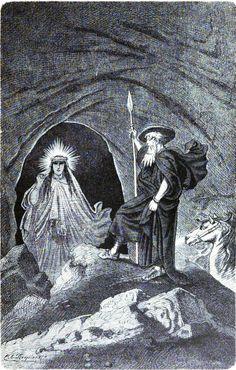 Erda http://www.germanicmythology.com/works/IMAGES4/Wagner64.jpg