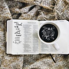 Bibles and coffee Scripture Quotes, Bible Art, Bible Verses, Give Me Jesus, In Christ Alone, Lord And Savior, Daily Bread, God Is Good, Word Of God