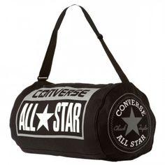 CONVERSE All Star Legacy Duffel Bag - Black   White   Grey Chuck Taylor  Style 3986fa931a9c5