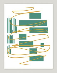 Poster, backside, Shape of things to come, for the Designstudio »Design by BlotaBlota«, Format DIN A2, 2 color screen print