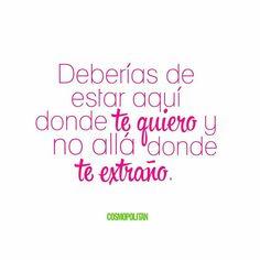 #TeQuiero #TeExtraño #IMissYou