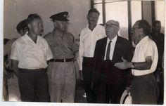 ביקור הנשיא שזר בבית כצנלסון ובמועצה