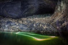 Inside Hang Son Doong, Vietnam. World's biggest cave by John Balson