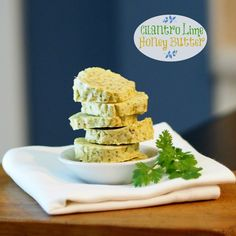 Cilantro Lime Honey Butter - a great way to add flavor to so many favorites; steak, chicken, pork and seafood just to name a few.