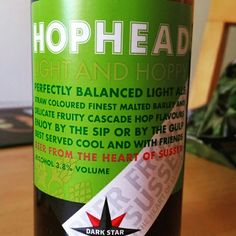 Hoppy notes. - Drinking a Hophead by Dark Star Brewing Co