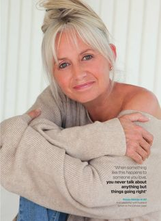 Susan George  at 60 yrs old.
