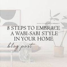 There is a push towards editing our homes in a more simplistic approach, which is why Wabi Sabi seems to be gaining awareness. Home Trends, Wabi Sabi, Decorating Ideas, Place Card Holders, Homes, Blog, Inspiration, Design, Style