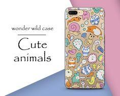 Cute Animals Phone Case, iPhone 6 Case Art iPhone 5s Case, iPhone 5c Case,iPhone 4 Case, Samsung case Samsung S7 edge,iPhone Case, eating