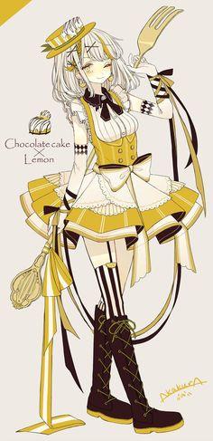 赤倉(@akakura1341)さん | Twitter Anime Cake, Manga Anime, Read Anime, Gato Anime, Chibi Kawaii, Kawaii Girl, Kawaii Anime, Chocolate Cake, Chocolate Girls