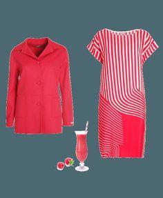 PARECER MÁS ALTA Y ESBELTA CON LA ROPA QUE TE PONES #estilismo #clothes #red #rayas #stripes #rojo