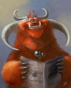 Information monstrous / Información monstruosa (ilustración de Ramón Acedo)