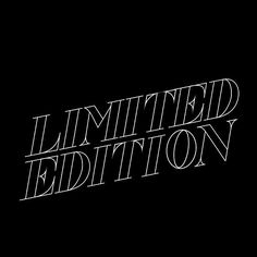 Limited edition. by lorrdesign