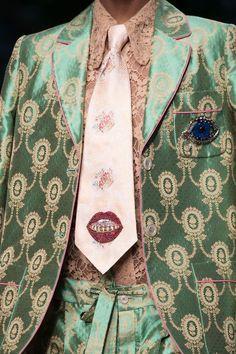 """kingofkappa: """"Gucci by Alessandro Michele S/S 2016 Menswear """""""