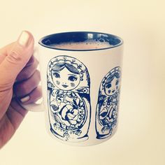 matryoshka mug...that I desperately need..
