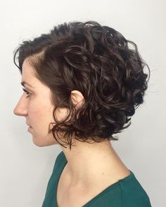 Short Curly Cuts, Short Curly Hairstyles For Women, Bob Haircuts For Women, Haircuts For Curly Hair, Curly Hair Cuts, Short Hair Cuts For Women, Curly Hair Styles, Wavy Hair, Glam Hairstyles