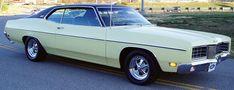 1970 Ford Galaxie XL. Dustin's first car.