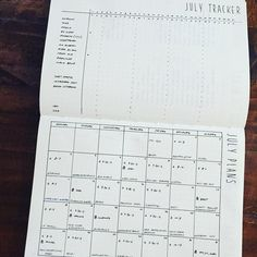 #planwithmechallenge 7.2 Monthly Set Up My monthly essentials: - Habit Tracker - Calendar - Gratitude log #bulletjournal #bulletjournalchallenge #july