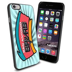 """NBA San Antonio Spurs iPhone 6 4.7"""" Case Cover Protector for iPhone 6 TPU Rubber Case SHUMMA http://www.amazon.com/dp/B00W6XZLOY/ref=cm_sw_r_pi_dp_5ox9vb1679YP6"""